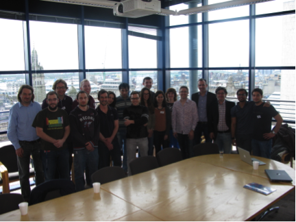 The Smartnet Group after a successful school and project meeting in Glasgow.