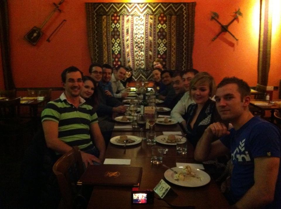 Christmas Dinner 2012
